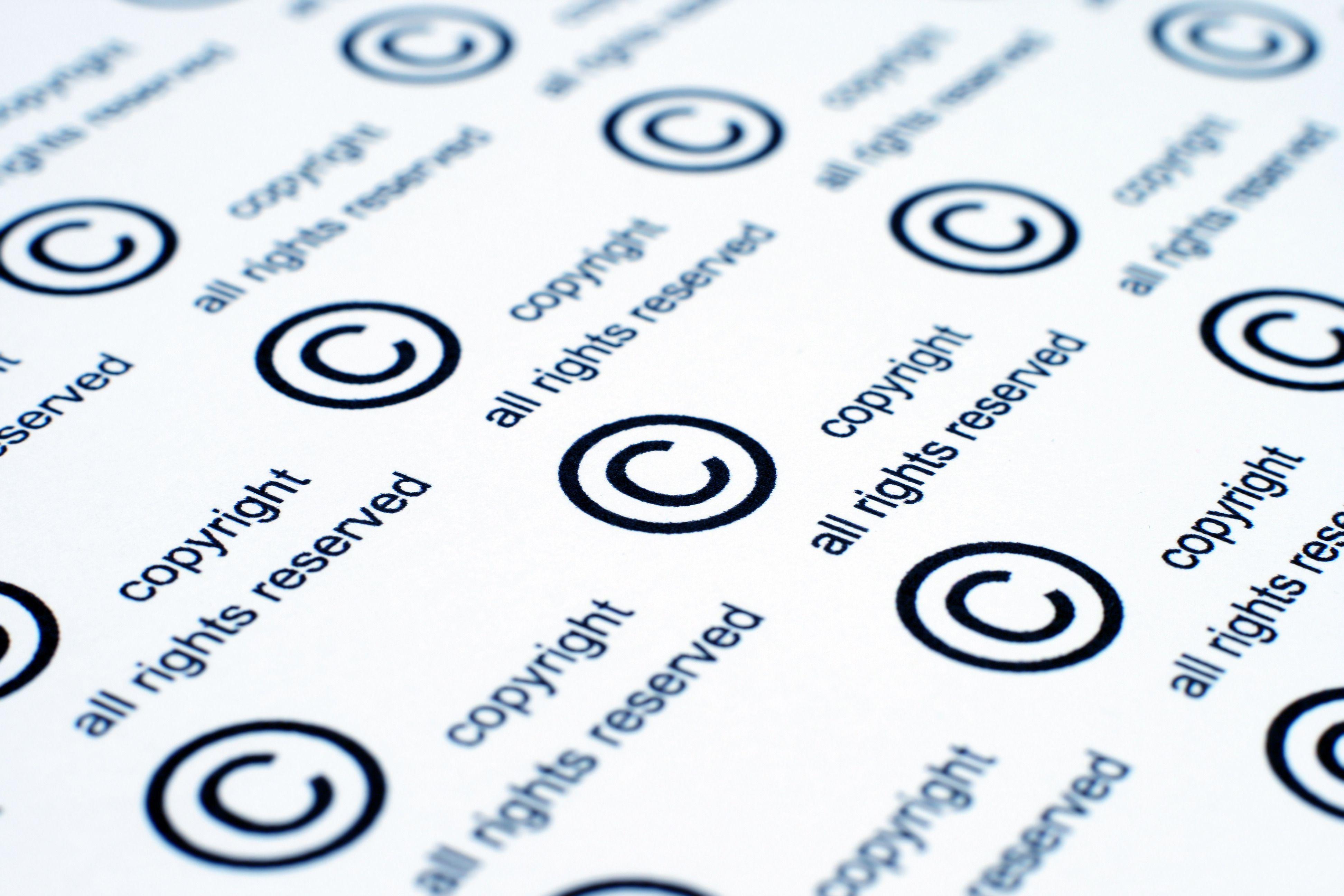 Riproduzione riservata, quando vince il diritto d'autore