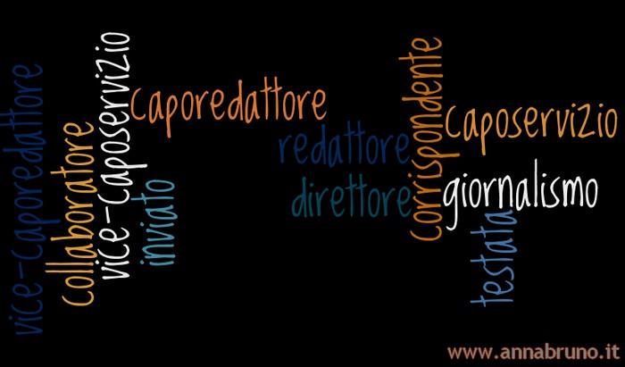 Caporedattore, caposervizio, redattore, le qualifiche in ambito giornalistico